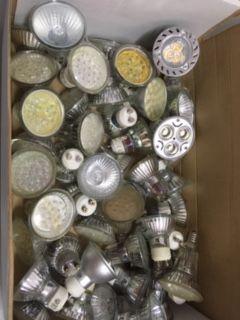 Conjunto de Focos downlight usados c/lampadas incluidas