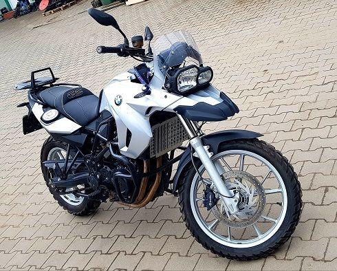 BMW F GS600 12r tylko 10tyś km 70KM IDEALNY Nowy akumulator