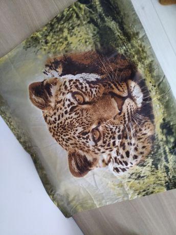 Komplet pościeli 3D pantera print bawełna 160*200
