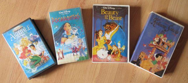 4 filmy Disneya na kasetach video