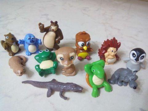 Мини-животные и динозавры.