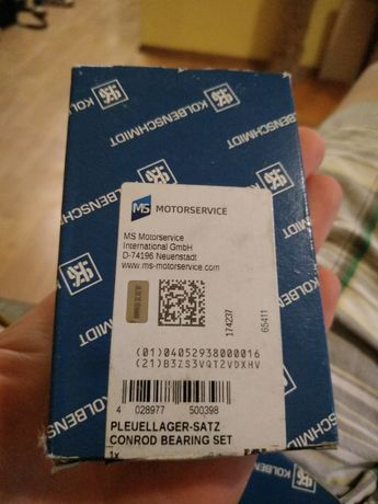 Шатунный подшипник KOLBENSCHMIDT (Колбеншмидт) 77741600