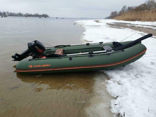 Лодка, Човен, колібрі, Kolibri 360 ДСЛ , ТА МОТОР Merkuri 15 2т