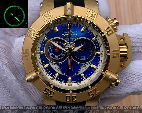 Швейцарские часы Invicta 5404 Subaqua Noma III Blue Gold Swiss Made
