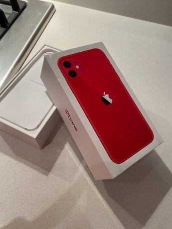 Коробка от красного айфона 11 128ГБ