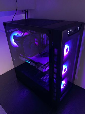 Komputer do gier (Ryzen 5 3600, RTX 2070 SUPER, 16GB RAM
