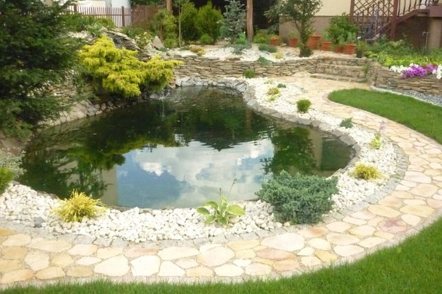 Usługi Ogrodnicze-kostka brukowa,oczka,ogrody,piece,grile