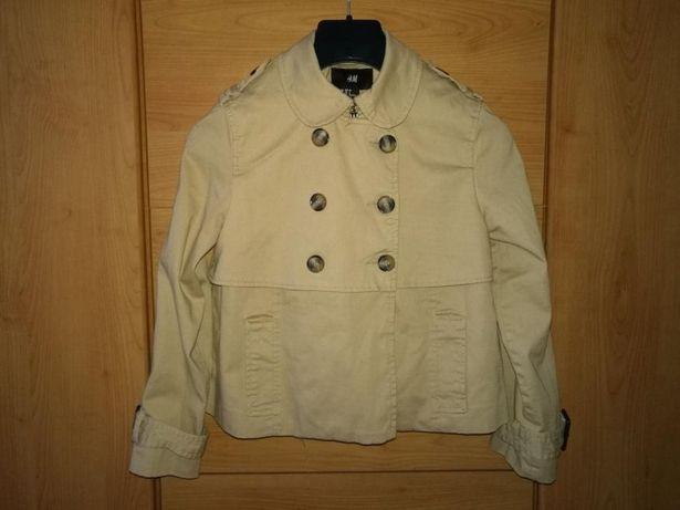 Krótka kurtka , kurteczka H&M roz. 36 na 160 - 165 cm wzr. płaszczyk