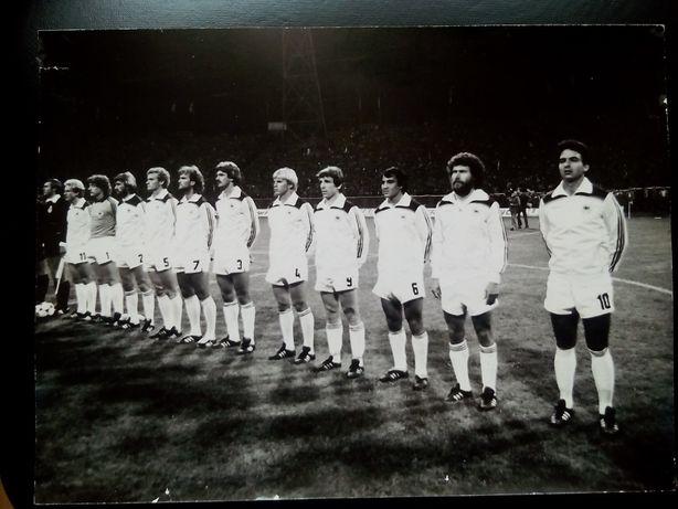 Piłka nożna Drużyna RFN , Chorzów 1981 r. Unikat! 30 zł.