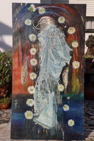 Pintura da artista de Miami Sheila Fraga