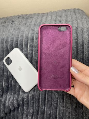 Матовый чехол на iPhone 6s / айфон 6с цвет Марсала