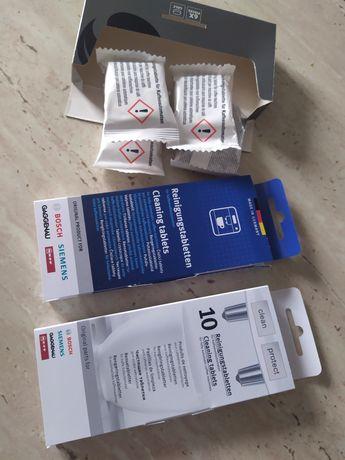 Tabletki do czyszczenia odkamieniania ekspresów automat. Siemens Bosch