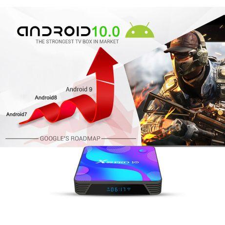 Смарт ТВ бокс Vontar X88 Pro Android 10 4/32Гб Wi-Fi A/C 2.4/5ГГц