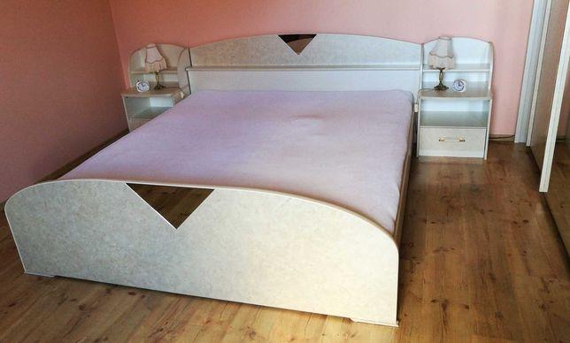Komplet holenderskich mebli do sypialni . Łóżko szafa szafki nocne