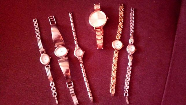5 zegarków damskich, zegarek