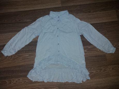 Блузка на девочку 8-9 лет