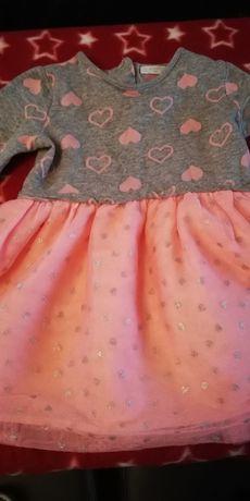 Sukienka dół tiul