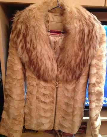 Продам норковую куртку полушубок с кусочков оригинальная