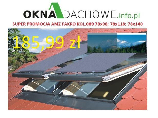 Markiza AOM 78x98;78x118;78x140 do okno dachowe -FAKRO, OptiLight