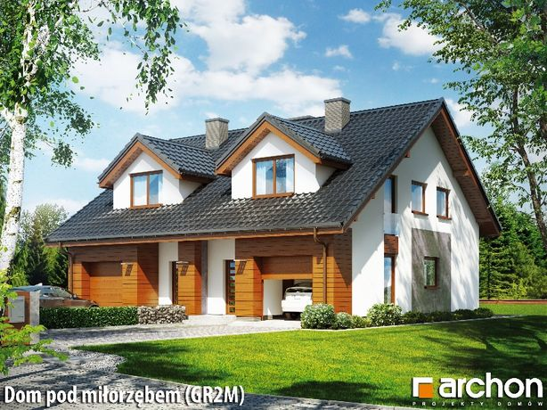 Dom jednorodzinny dwulokalowy (taras ,balkon, garaż) oddanie 2022