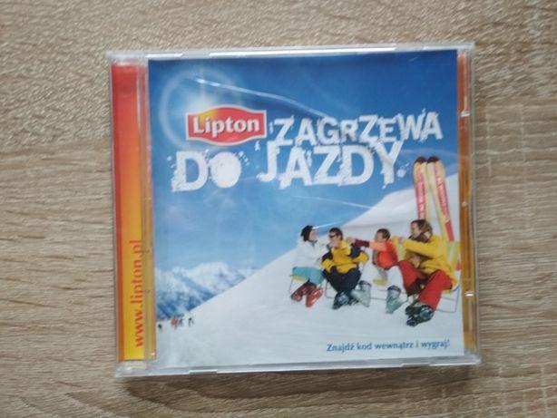 CD lipton zagrzewa do jazdy, narty