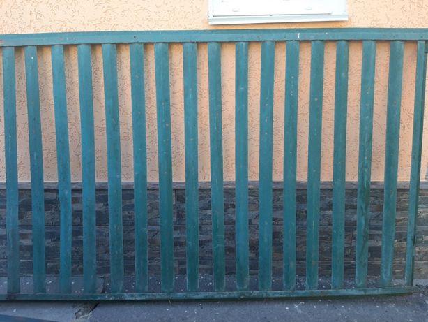Секционный забор. Паркан металевий