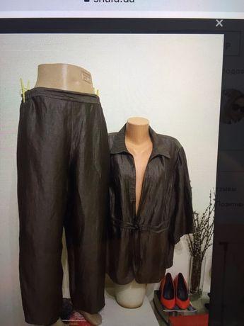 Льняной костюм Afelier xxxl лен  Германия 54-56  Brunello cucinelli