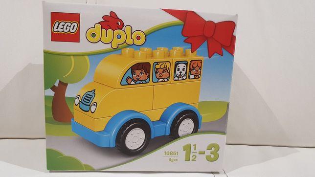 Lego duplo 10851 moj pierwszy autobus/samochód