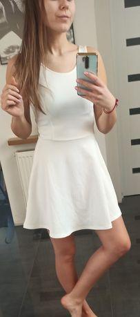 Sukienka biala Hm
