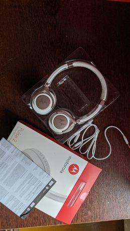 Słuchawki Motorola Pulse 2 - białe