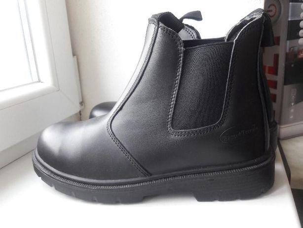 мужские кожаные ботинки в стиле челси размер 42 по стельке 28 есть пет