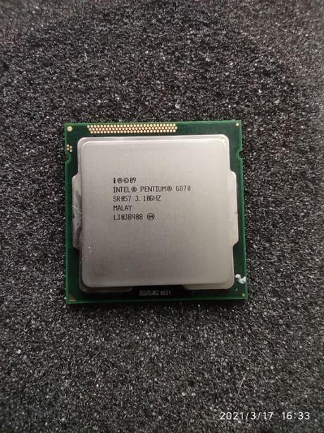 Процессор Intel Pentium Dual Core G870 3.10GHz/5GT/s/3MB s1155