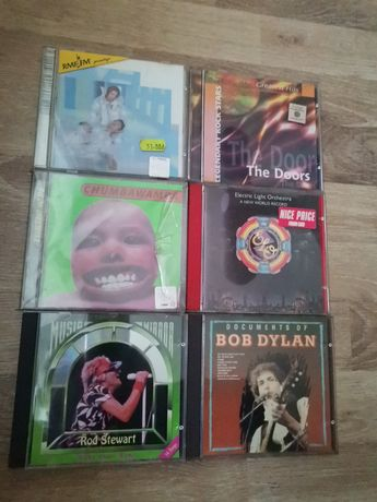 płyty CD Bob Dylan the doors David Bowie chumbawamba rod steward