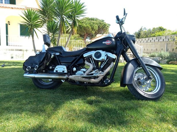 vendo harley davidson fxlr low rider 1340 evolution