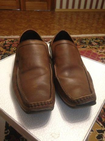 Туфли мужские,кожаные 41р.б/у