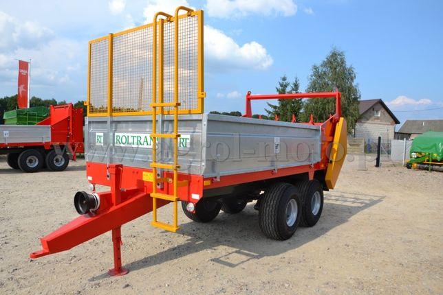Rozrzutnik obornika ROLTRANS IGAMET 6 8 ton!