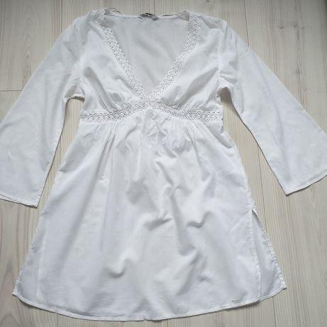 WYSYŁKA 1 zł - Piękna bluzka tunika ciążowa 40 42