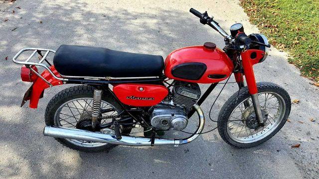 Продам мотоцикл минск 12в