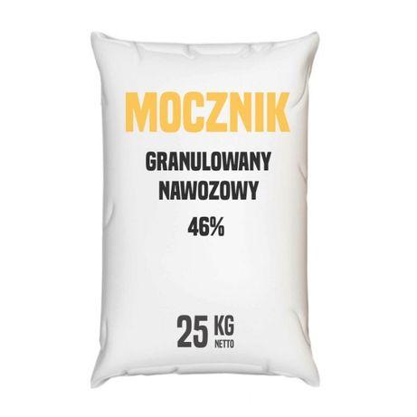 Mocznik granulowany nawozowy 46% - 25 – 1000 kg – Wysyłka kurierem