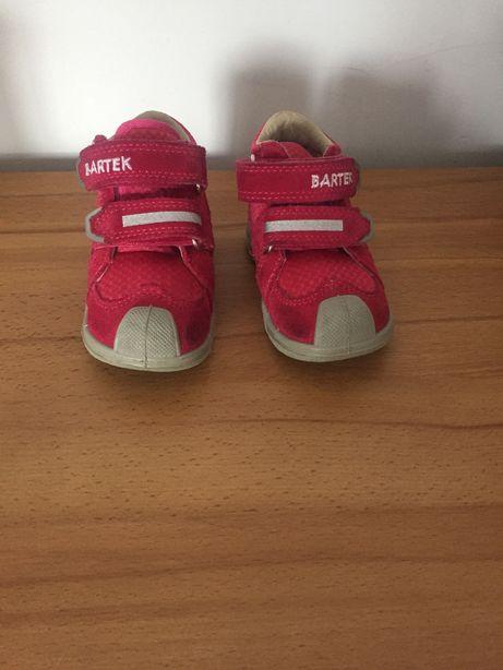 Buty dla dziewczynki trzewiki BARTEK