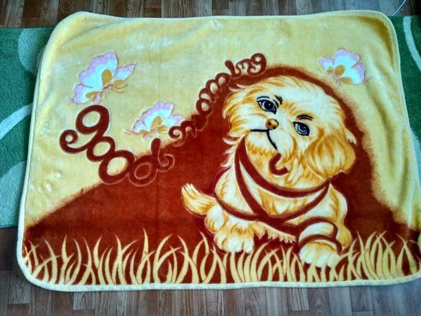 Детское одеяло плед