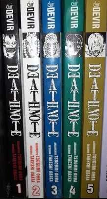 Death Note 1 a 5 - Devir - Português