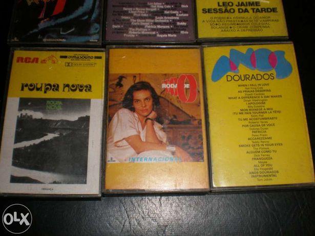 Cassetes Música Roberto Leal; Fernando Machado Soares