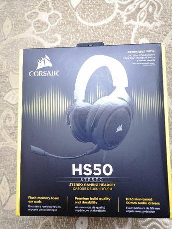 Corsair HS50 Stereo Gaming Headset (czarne)