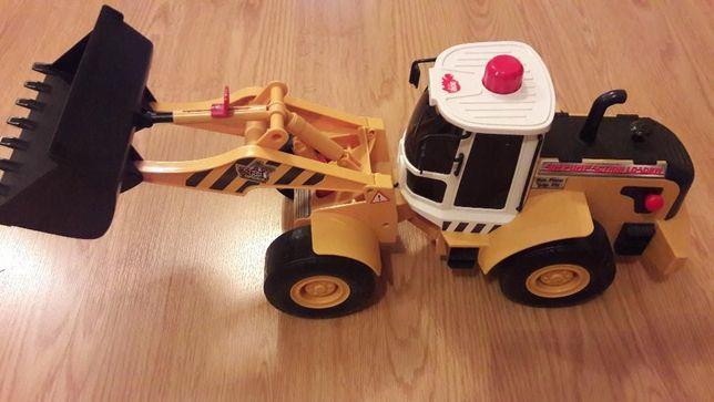 Большой трактор машина экскаватор Diskie Toys 56 см