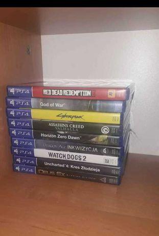 Gry PS4 całość lub pojedyńczo