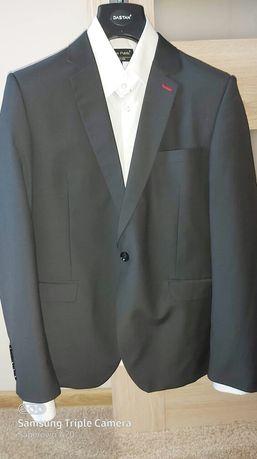 Garnitur męski Dastan 50/176 + biała koszula
