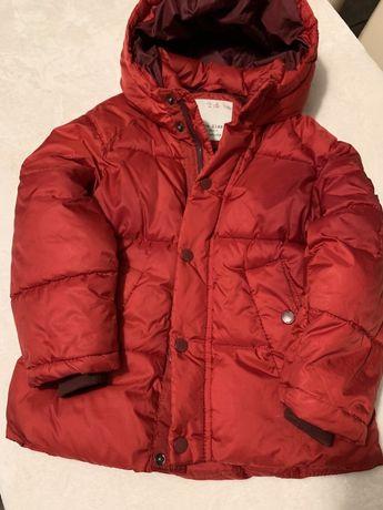 Kurtka zimowa 116 Zara puchowka