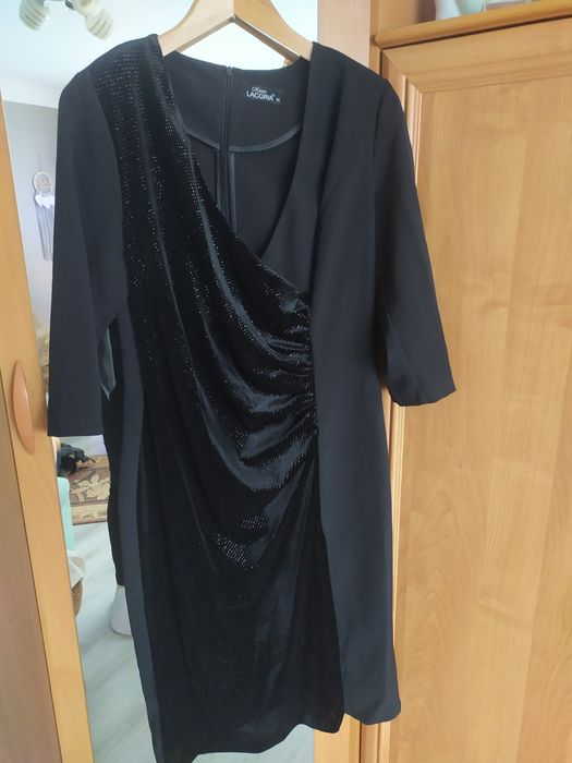 Sukienka wizytowa czarna Polanów - image 1