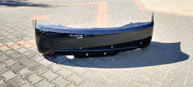 Peugeot 407 Coupe Zderzak Tyl Tylny Oryginal PDC